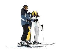 Esquiadores Foto de Stock Royalty Free