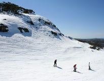 Esquiando em Victoria, Austrália Imagem de Stock Royalty Free