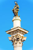 The Esquiline Obelisk at the Piazza dell`Esquilino square in Rom Royalty Free Stock Images
