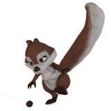 Esquilo #09 de Toon Foto de Stock