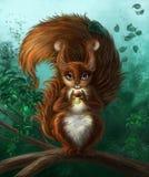 Esquilo de Guick Fotos de Stock Royalty Free