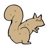 esquilo dos desenhos animados Imagem de Stock