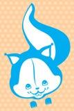 Esquilo engraçado Ilustração do Vetor