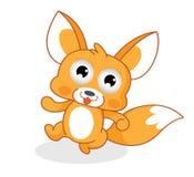 Esquilo engraçado dos desenhos animados Fotografia de Stock