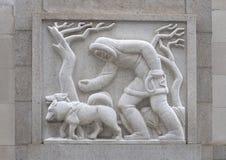 ` Esquimau de ` par Edmond Amateis, Robert N C Nix, Sr Bâtiment et bureau de poste fédéraux images stock
