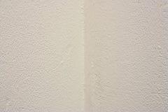 Esquina blanca de la pared Imagen de archivo libre de regalías