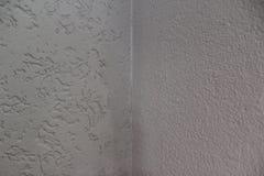 Esquina blanca de la pared Fotografía de archivo