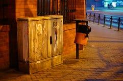 Esquina de calle Imagenes de archivo