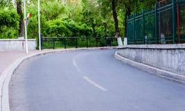 Esquina de giro a la derecha Imagen de archivo