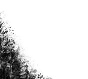 Esquina de Grunge fotos de archivo