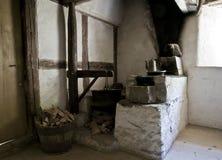 Esquina de la cocina Fotografía de archivo