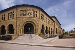 Esquina de la historia en la Universidad de Stanford Imagenes de archivo