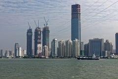 esquina de la isla de ciudad-Xiamen Imágenes de archivo libres de regalías