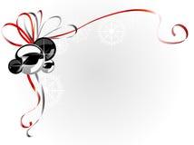 Esquina de la Navidad libre illustration