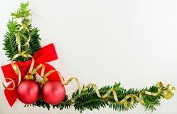 Esquina de la Navidad Fotos de archivo libres de regalías