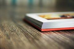 Esquina de la página de Photobook Imagen de archivo libre de regalías