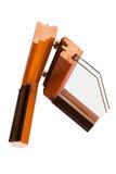 Esquina de madera fotografía de archivo libre de regalías