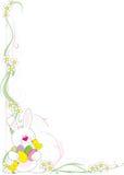 Esquina de Pascua stock de ilustración