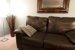 Esquina de una sala de estar Imagen de archivo libre de regalías