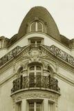 Esquina del edificio tradicional Imagenes de archivo