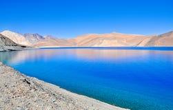 Esquina del lago azul Fotos de archivo
