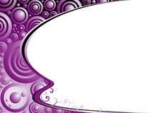 Esquina del platillo ilustración del vector