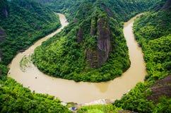 Esquina del valle en el soporte TianMeng Fotografía de archivo libre de regalías