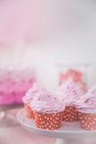 Esquina dulce de una fiesta de cumpleaños Fotografía de archivo