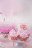 Esquina dulce de una fiesta de cumpleaños Imagen de archivo