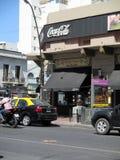 Esquina Homero Manzi Avenida Boedo Argentina - lugar hermoso del lugar de Buenos Aires dedicado al tango de Argentina Fotografía de archivo