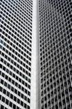 Esquina interior de un rascacielos fotos de archivo libres de regalías