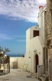 Esquina mediterránea fotografía de archivo