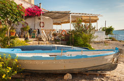 Esquina mediterránea Fotos de archivo