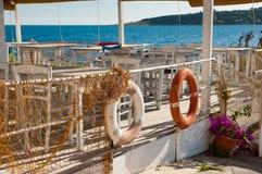 Esquina mediterránea Fotografía de archivo libre de regalías