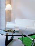 Esquina moderna de la sala de estar Imágenes de archivo libres de regalías