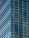 Esquina moderna del edificio de oficinas Imágenes de archivo libres de regalías