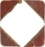 Esquinas antiguas de la foto Fotos de archivo libres de regalías
