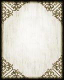 Esquinas antiguas del cordón del papel del estilo Imágenes de archivo libres de regalías