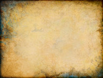 Esquinas de Grunge de la pátina Imágenes de archivo libres de regalías