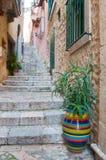 Esquinas de Taormina Imágenes de archivo libres de regalías