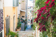 Esquinas de Taormina Imagen de archivo libre de regalías