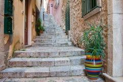 Esquinas de Taormina Imagen de archivo