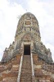 Esquintez du temple de Chaiwatthan Image libre de droits