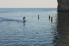 Esquis aquáticos Fotos de Stock Royalty Free