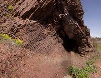 Esquisto de la roca Fotografía de archivo libre de regalías
