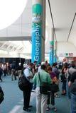 ESRI Benutzer-Konferenz 2010 Stockbild