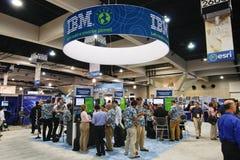 ESRI Benutzer-Konferenz - IBM-Stand Lizenzfreie Stockfotografie
