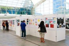 ESRI Benutzer-Konferenz-Karten-Galerie Lizenzfreies Stockbild