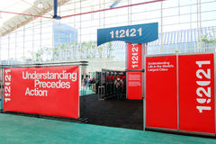 ESRI User Conference 192021 Booth Stock Photo