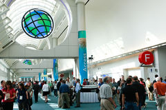 ESRI User Conference 2010. SAN DIEGO - JULY 12: ESRI (Environmental Systems Research Institute) user conference is the biggest GIS (Geographic Information stock photography